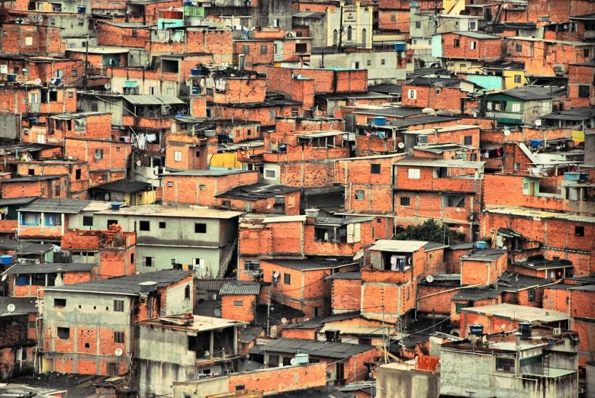 Favela Paraisópolis. São Paulo, 2013.